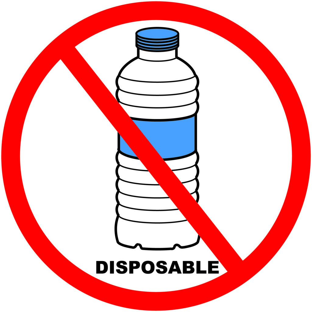 ditch bottled water